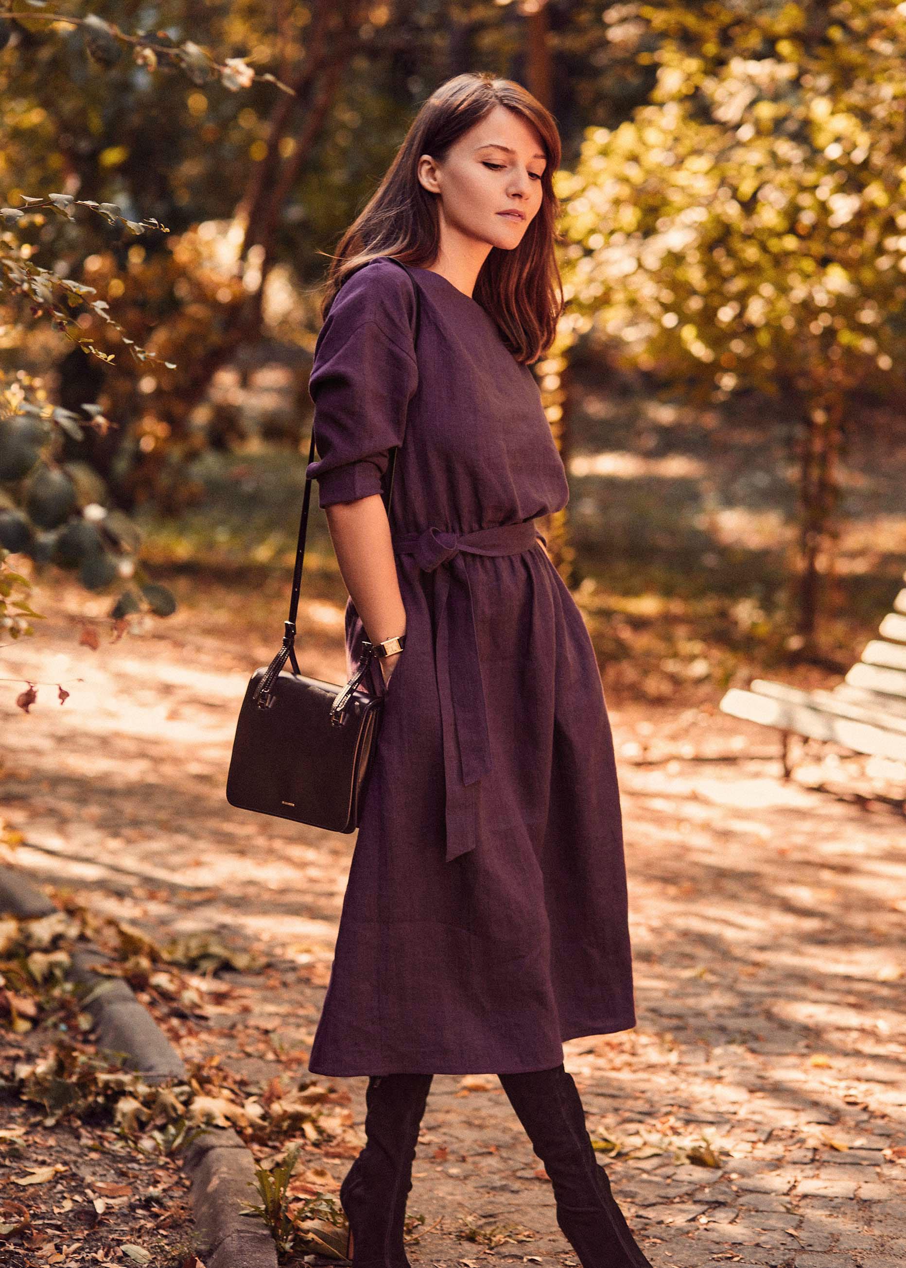 Dawn Dress Purple