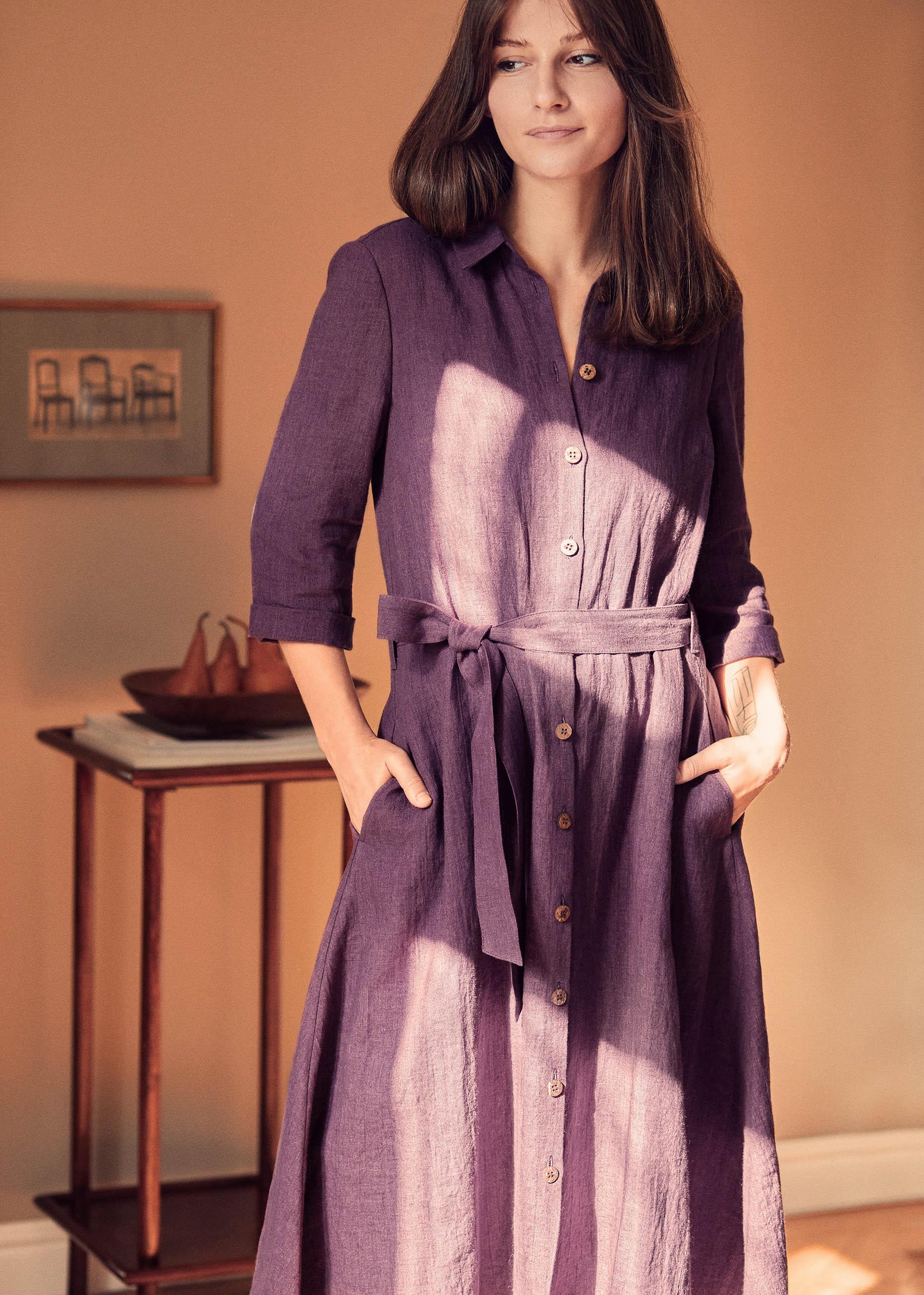 Irene Dress Purple