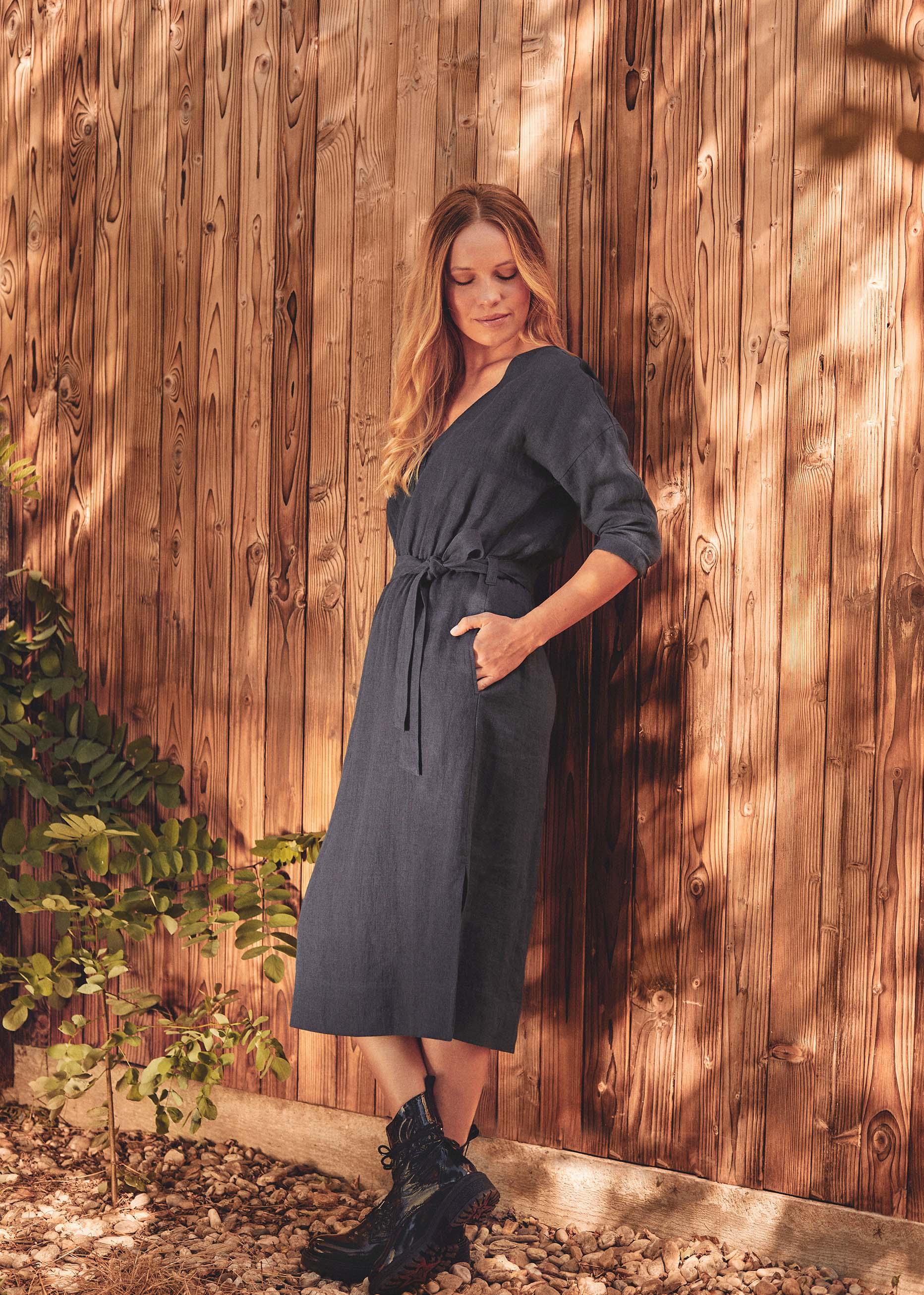 Erin Dress Midnight Blue