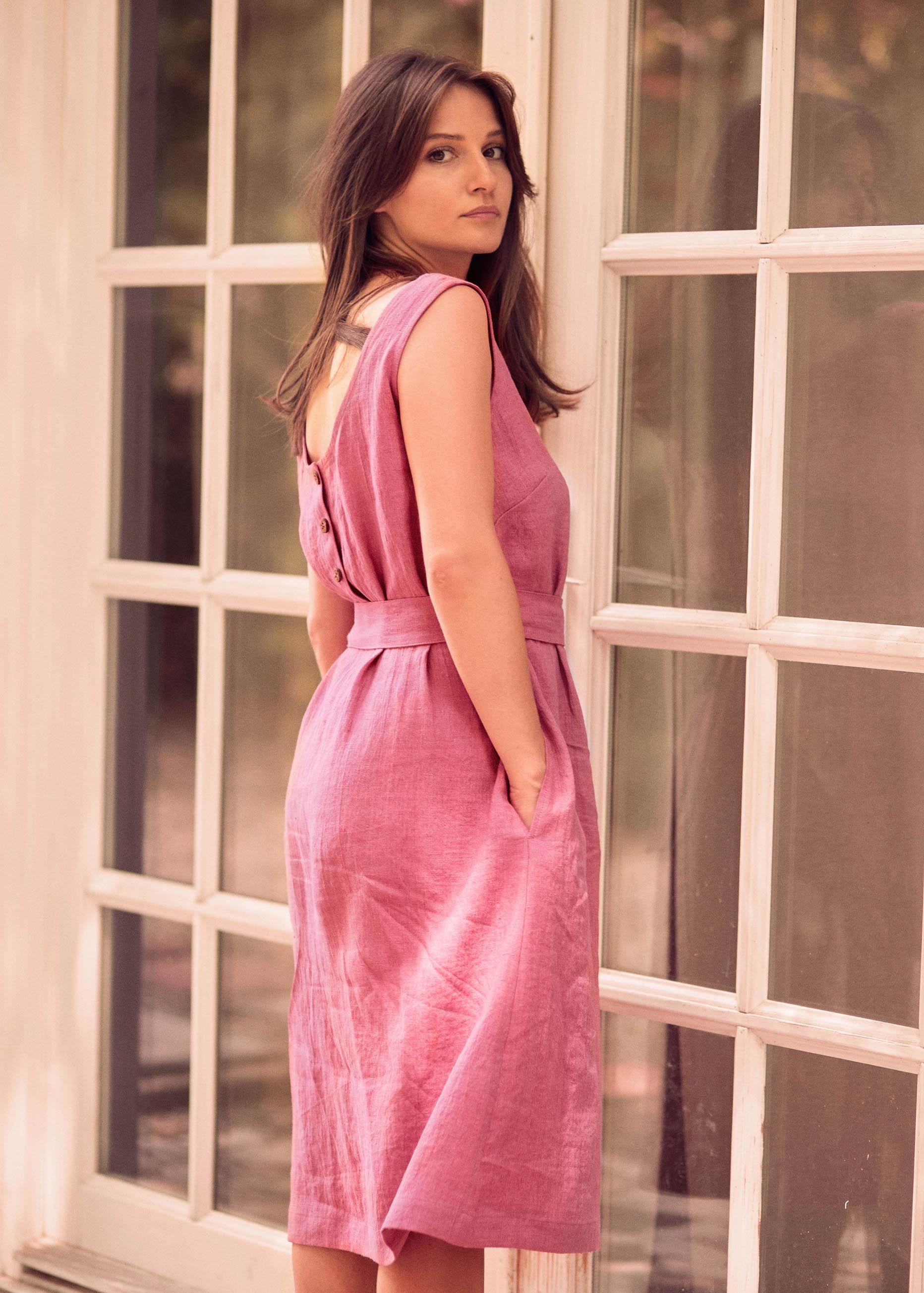 Emma Dress Pink