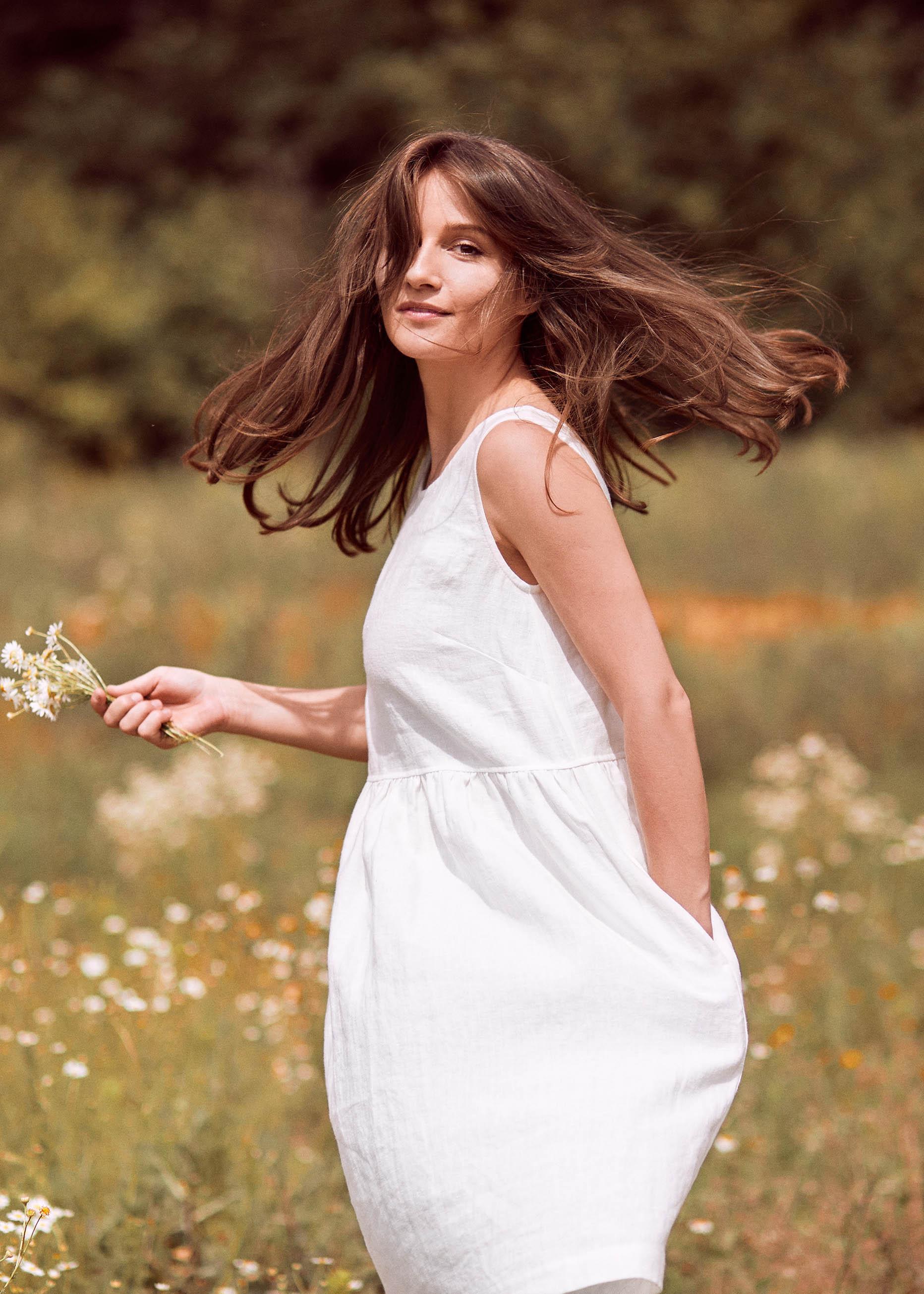 Marion Dress White