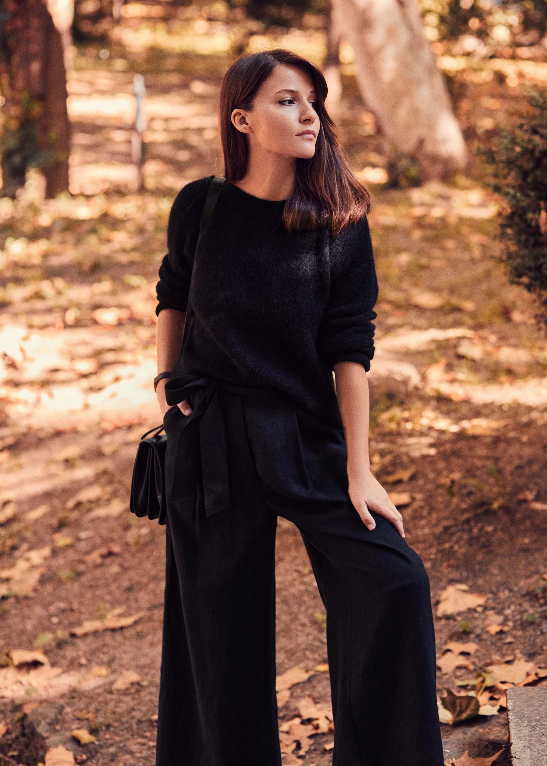 Sasha Trouser Black