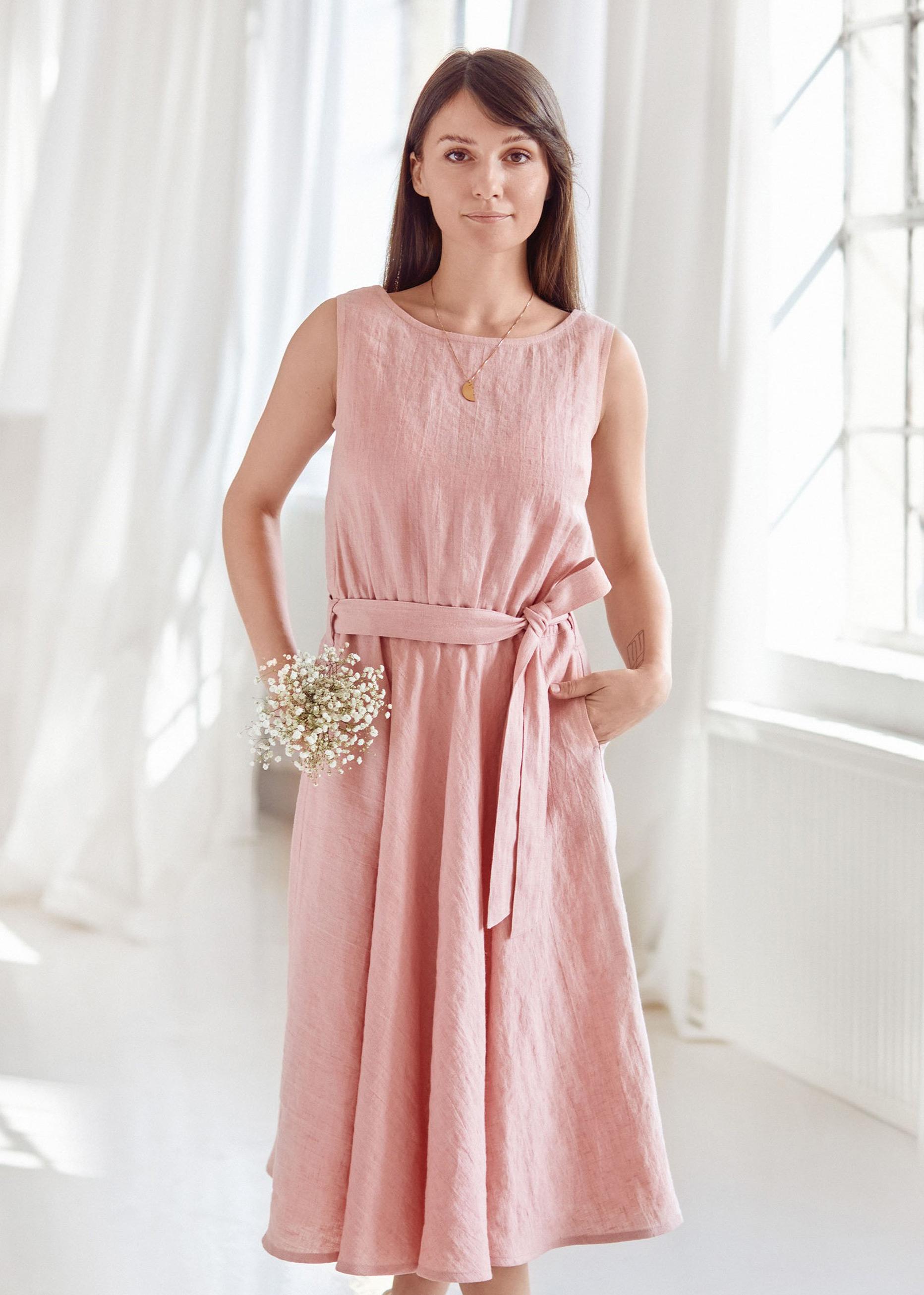 Melanie Dress Blush Pink