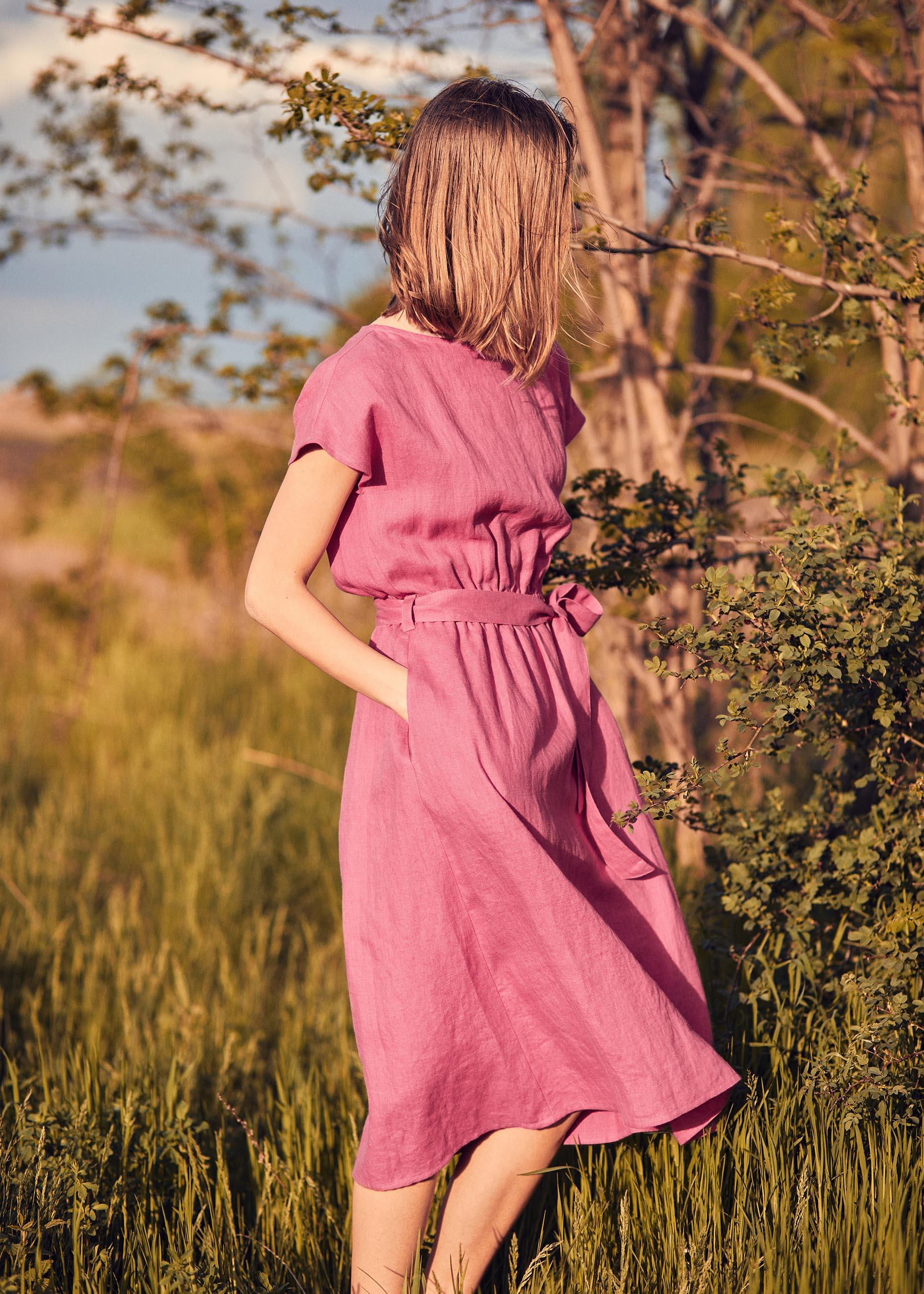 April Dress Pink